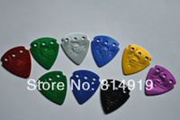 Wholesale 100pcs mix color celluloid metal stainless steel guitar pick High quality Aviation aluminum