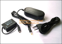 Wholesale Power Adapter Combo DMW AC8 DMW DCC8 DC Coupler for Panasonic Lumix FZ200 G6 G5 GH2 GH2K and GH2S Cameras