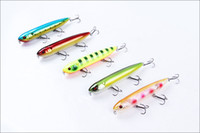 Wholesale Factory Supply High quality Style fishing tackles fishing lure bait hard lure mm g VMC hook