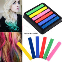 Temporary hair color - hair Colors Chalk Pastel Stick Vermicelli Chalk hair Color Powder Brush Hair Chalk For Hair SV000202