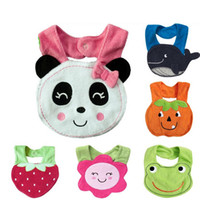 baby handkerchief - Infant saliva towels layer Baby Waterproof bibs Baby wear accessories kids cotton apron handkerchief Bibs amp Burp Cloths YP