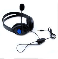 Wholesale Headphone for PS4 Luxurious Wired Headset for Sony Playstation Top Quality Headphones