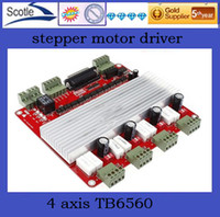 TB6560 4axis Guangdong China (Mainland) Stepper Motor Free shipping NEW 4 axis TB6560 stepper motor driver CNC controller board V type cnc controller