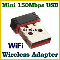 Wholesale New Mini Mbps USB WiFi Wireless Adapter M Network Networking LAN Card n g b dandys