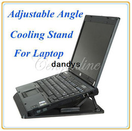 Wholesale Ergonomic Degree Adjustable Angle Notebook Laptop Radiator Cooling Cooler Pad Stand Holder Mount dandys