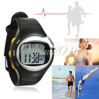 Unisex calorie counter watch - Digital Pulse Heart Rate Monitor Calories Counter Fitness Healthy Sport Watch dandys