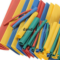 Insulation Sleeving shrink wrap - 260pcs Size Assortment Polyolefin H type Heat Shrinking Shrink Tubing Tube Sleeve Wrap Wire Cable Kit dandys