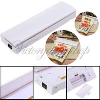 Precio de Bolsas de plástico para alimentos-Almacenaje del ahorrador del envío de la nueva plástica Food Carne Bolsa Heat Seal Reseal Selladora Manual Closer Press Machine , dandys