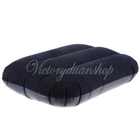Wholesale Inflatable Pillow Travel Air Cushion Camp Beach Car Plane Head Rest Bed Sleep for Outdoor Sport dandys