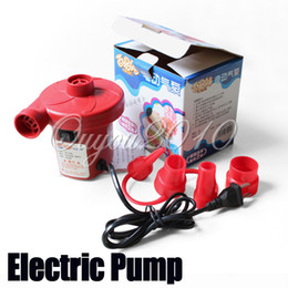 Wholesale 220V AC Electric Air Pump Inflate Deflate for Air Bed Car Boat Compression Mattress Toy Tool dandys