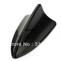 ABS Material antenna decoration - 1pc Car Shark Fin Roof For bmw Style GPS Decorative Decoration Antenna BLK dandys
