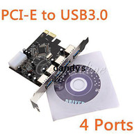 Wholesale USB PCI e PCI Express to Port VLI USB Hub Controller Card Adapter Converter Gbps dandys