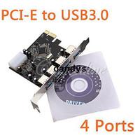 Wholesale USB PCI e PCI Express to Port VLI USB Hub Controller Card Adapter Converter Gbps dandys