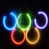 Wholesale 2x mm Car Auto CCFL Angel Eyes Halo Rings Light Lamp Headlight W V White Blue Red dandys