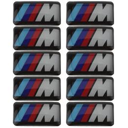 Wholesale 10X Tec Sport Wheel Badge D Emblem Sticker Decals Logo For bmw M Series M1 M3 M5 M6 dandys