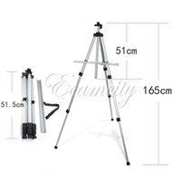 artist paint easel - Aluminium Alloy Folding Artist Painting Easel Display Stand Art Sketch Exhibition Adjustable Tripod Carry Bag dandys