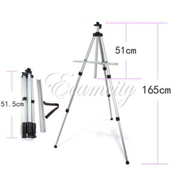 Wholesale Aluminium Alloy Folding Artist Painting Easel Display Stand Art Sketch Exhibition Adjustable Tripod Carry Bag dandys