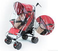 Wholesale Waterproof Baby Infant Stroller By Pram Shield Protector Pushchair Mosquito Fly Midge Insect Bug Dust Wind Rain Lucid Cover dandys