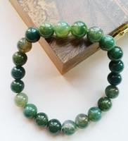 Wholesale Natural Aquatic Agate Bracelet Elasticity Bracelet Hand Chain PRIME