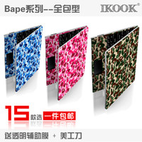 Wholesale free shinppingbape camo laptop case laptop foil stickers Colorful stickers notebook all inclusive all inclusive