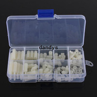 Wholesale Nylon Hex Spacer Screw Nut Assortment Kit Standoff Plastic Accessories Set dandys