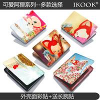 Wholesale free shinppingIKOOK tanuki laptop shell protective film books Beauty Colorful foil stickers