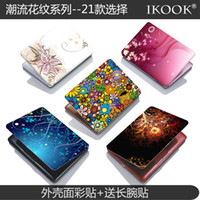 Wholesale free shinppingColorful floral fashion laptop case sticker protective film protective film Colorful stickers affixed to send wrist