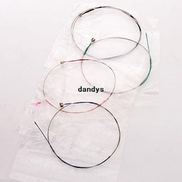 Wholesale 4pcs set Rosin Resin Violin Bowstring Strings G D A E Instruments Replacement dandys