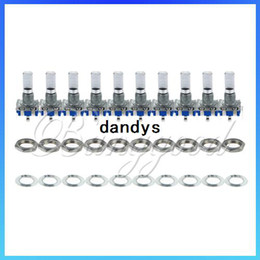 Wholesale 10pcs New mm Rotary Encoder Switch With Keyswitch Use With PIC or ATMEL New dandys