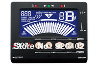 Yes Black Tuner AROMA AT-550B New Large-screen triple Metronome Tuner Fit For chromatic, guitar, bass, ukulele, violin Musical Instrument Tools