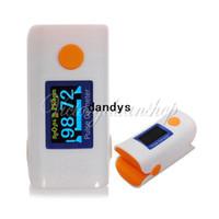 Wholesale CE FDA Home Care Finger Pulse Oximeter Oxymeter Blood Oxygen PR SPO2 Monitor OLED Digital Display dandys