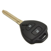 Wholesale car For Toyota Remote Key Fob Shell Buttons for Camry Corolla Hilux Prado Tarago RAV4 dandys