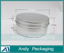 Wholesale G Cream Jar Aluminum Cosmetic Hair Wax Sub bottling Tea Deconsolidator Empty Makeup Container