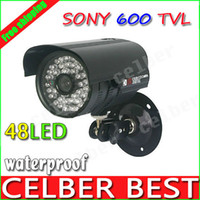 Yes Infrared Video Camera CCTV 600TVL High Resolution 48IR Sony CCD Security camera Outdoor Camera System with Bracket