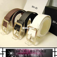 Wholesale Accounting clothing fashion cxhk japanese word buckle strap male women s belt