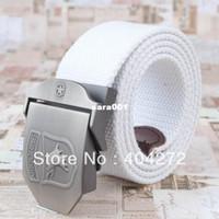Belts cotton belts - Casual Cotton Belt Men s Waist Branded Automatic Buckle