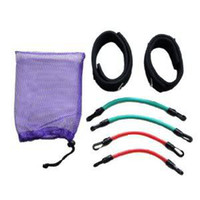 Resistance Bands Men Pedal Exerciser Set of 4 Leg Thigh Latex Resistance Band Gym Fitness Exercise Tube Ankle Straps free shipping
