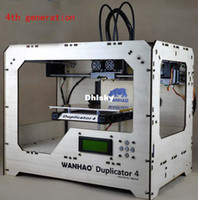 New 3D Printer 3D Printer 3d printer in machine abs pla filaments the 4th fourth generation