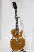 Wholesale Custom Shop G LP Standard Electric Guitar Brown Tiger Top High Quality Best Guitars Musical Instruments