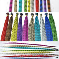Wholesale Mother day gift Funky Feather Hair Funky Feather Hair Extension Clips mixed color Hot Products