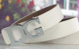 Femmes boucles de ceinture gros en Ligne-Les fabricants de gros-étrangères vendant hommes et les femmes avec des lettres d'édition de Han Men # 039; de boucle de ceinture des ceintures livraison gratuite