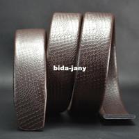 auto serpentine belt - Serpentine genuine leather for Auto lock belt waist length cm T11