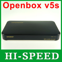 Wholesale 10pcs Newest Original Openbox V5S HD full p satellite receiver support usb wifi pvr youtube youporn cccamd europe fedex