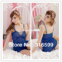 Wholesale Extreme Sexy transparent Costumes temptation female bedroom lingeries Drop ship US1695