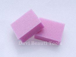 Wholesale nail buffer mini pink sanding block emery board for nail salon Nail Art BK0361