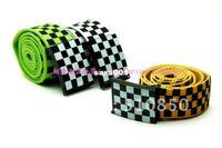 Wholesale CPA new arrival Black square plaid colorant match hip hop belt strap waistband