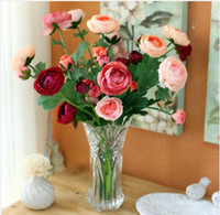 Wholesale Fish smile rose aesthetic fashion high artificial flower artificial home decoration flower dried flowers