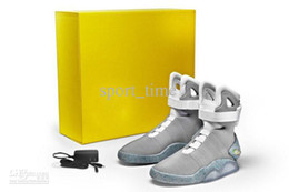 Wholesale Basketball Shoes Cheap Mag Back to the Future Glowing Shoes Limited Edition Latest Shoes Gorgeous Mens Basketball Shoes