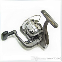 Stainless Steel silver  Wholesale - Fishing Equipment Bearing Light weight Fishing reel Tackle Spinning Single Wheel Reel