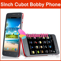 100% Originale 5Inch <b>Cubot</b> Bobby Android 4.2 Telefono MTK6572 Dual Core 3G GPS 512MB RAM 4GB ROM Dual camera Doppia SIM HD IPS Touch Screen 002176